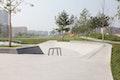 Skateanlage - Bereich Street