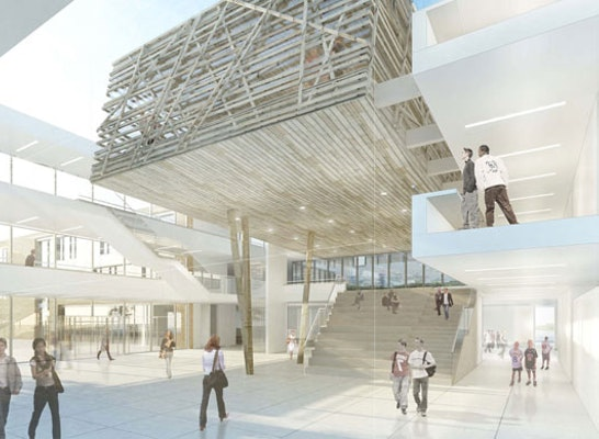 1 preis neubau der igs wilhelm bracke competitionline - Baumhaus architekturburo ...