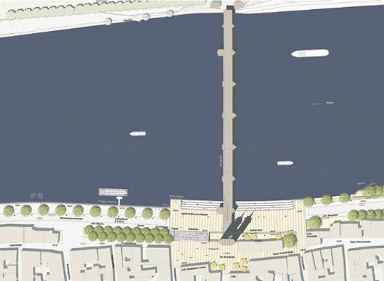 Lageplan Bereich Alte Brücke