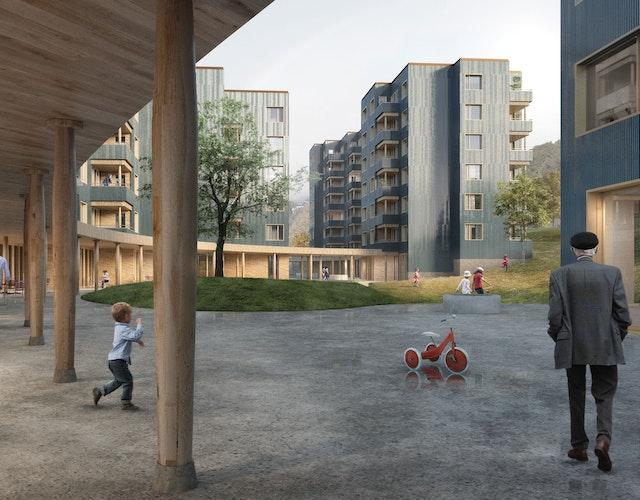Neubau Zentrum Tödi in Horgen