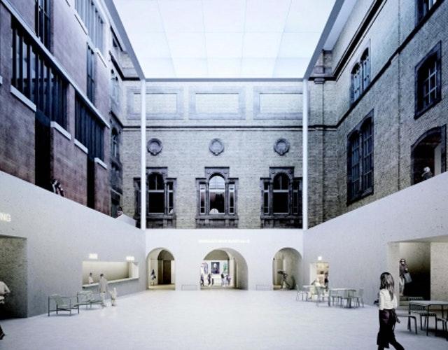 Sanierung, Umstrukturierung und Erweiterung der Staatlichen Kunsthalle