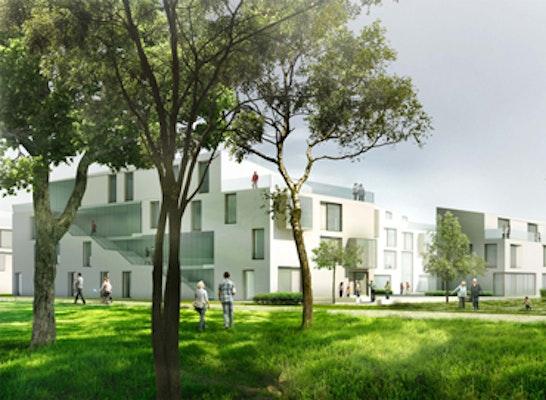 Landschaftsarchitekten Köln ergebnis tarpenbek greens wohnen an der tarpenb competitionline