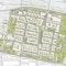 Das neue Stadtquartier wird einerseits mittels des Ringparks mit den umgebenden Wohnquartieren verbunden ...
