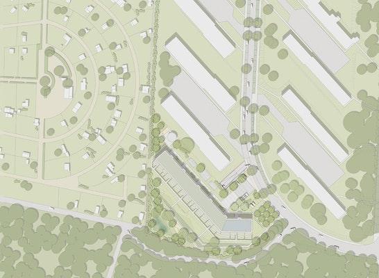 +grün Lageplan Lincoln-Siedlung Darmstadt