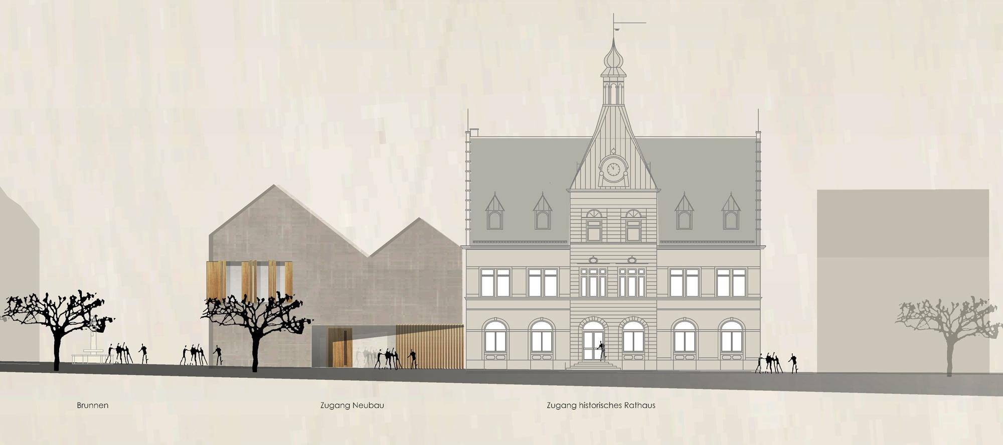 Ergebnis Erweiterung Rathaus Stadt Zell Am Harmersbcompetitionline