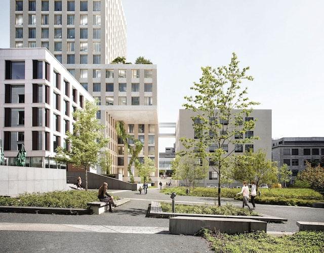 Erweiterungsbau auf dem Grundstück des Hôpital Kirchberg in Luxemburg / Extension Building Centre Hospital Kirchberg