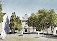 Skizze Klosterhof