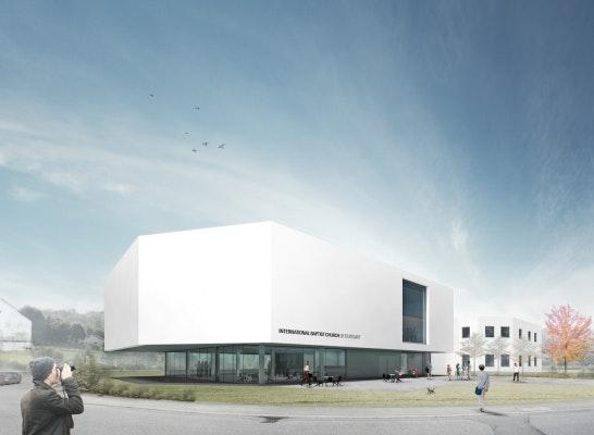 Umbau Und Erweiterung Gemeindezentrum Ibc Stuttgart