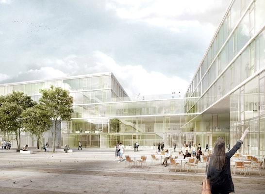 © doranth post architekten - Visualisierung Außenraum