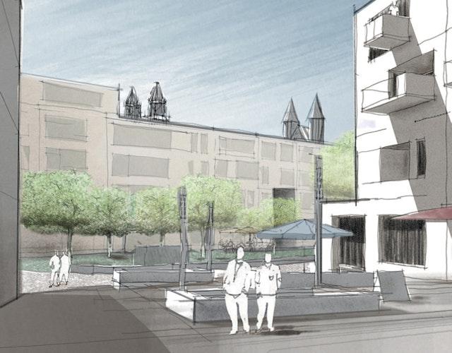 """Städtebauliche Entwicklung des Areals """"Prämonstratenserberg"""" in Magdeburg"""
