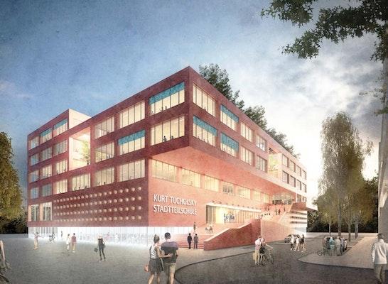 Ergebnis neubau der stadtteilschule mitte altona for Architekten hamburg altona