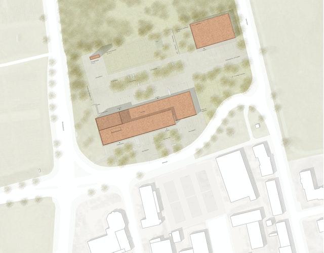 Neubau der Feuer- und Rettungswache III in Münster-Hiltrup