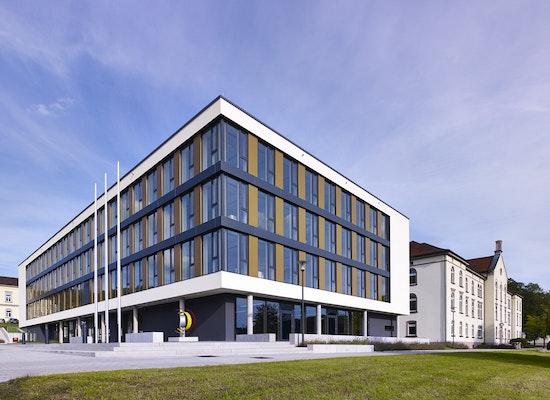 Projekt erweiterung landratsamt sigmaringen - Bfk architekten ...
