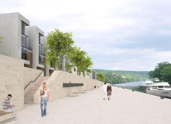projekt wohnen am wasser mainl nde schweinfurt. Black Bedroom Furniture Sets. Home Design Ideas