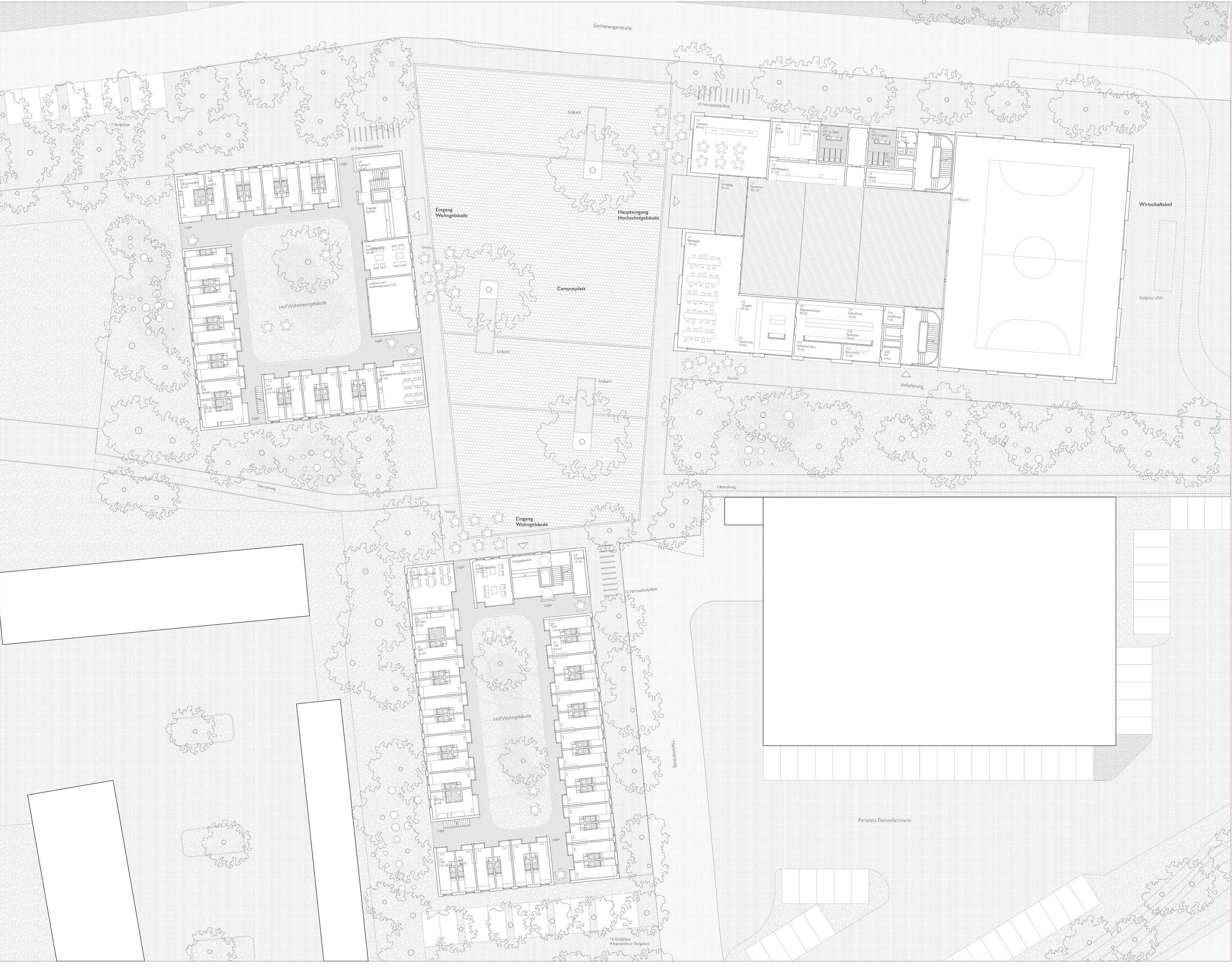 Ergebnis Bauwerks Und Freianlagenplanung Des Neuba Competitionline