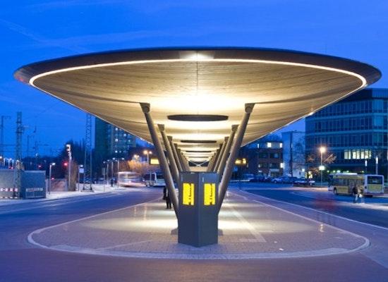 Projekt Quot Zentraler Omnibusbahnhof Unna Quot