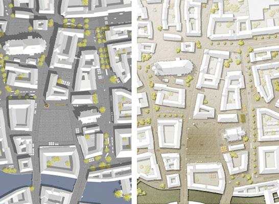 Landschaftsarchitekten München ergebnis neugestaltung hauptmarkt obstmarkt und os competitionline