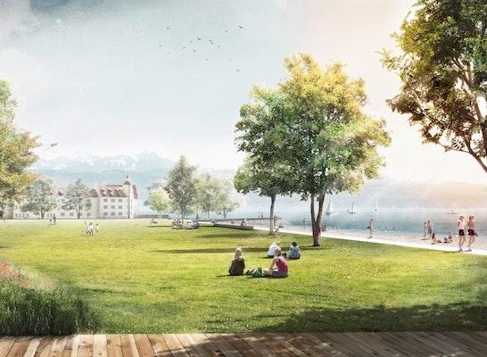 Ansicht Seequartier am Seepark