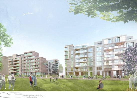 perspektive am park ─ czerner göttsch architekten architektur + stadtplanung
