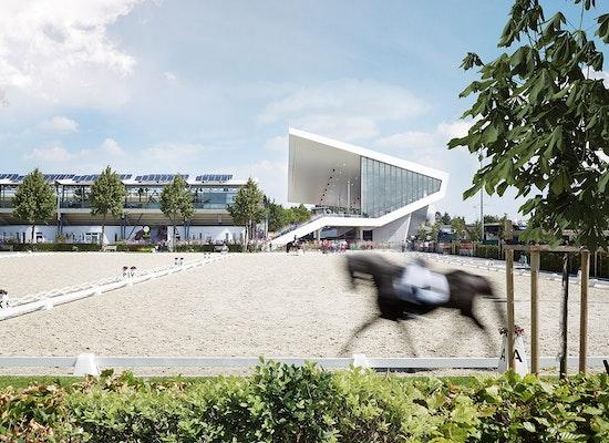 Auszeichnung: Erweiterung des Dressurstadions Aachen, kadawittfeldarchitektur, © Andreas Horsky