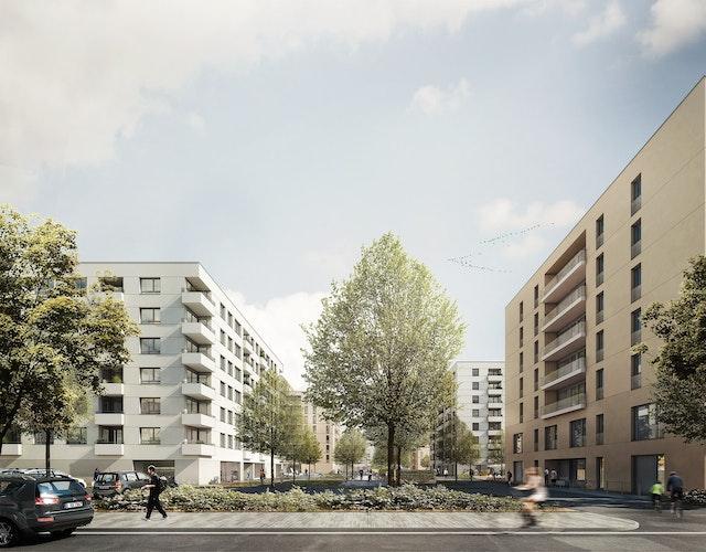 Planung und Errichtung von Wohngebäuden im Senftenberger Ring 47 in Berlin