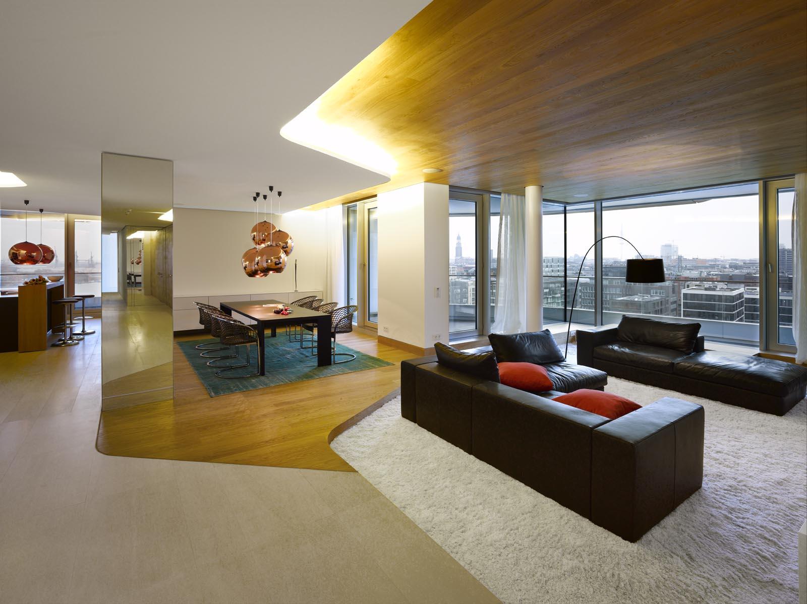 Interieur Aus Beton Und Aluminium Urban Wohnung - monref.net