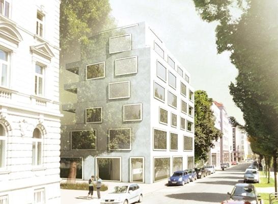 Ergebnis Neubau Eines Wohn Und Gesch 228 Ftshauses S