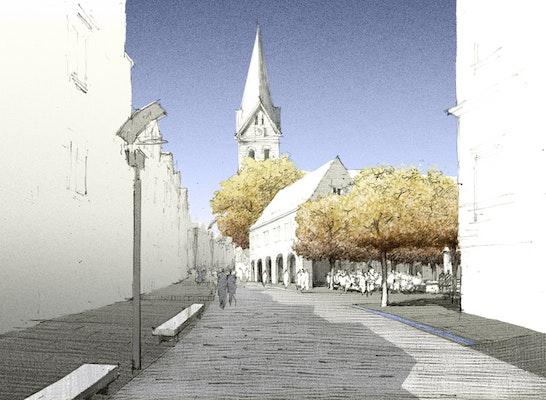 Nordermarkt - Fußgängerzone