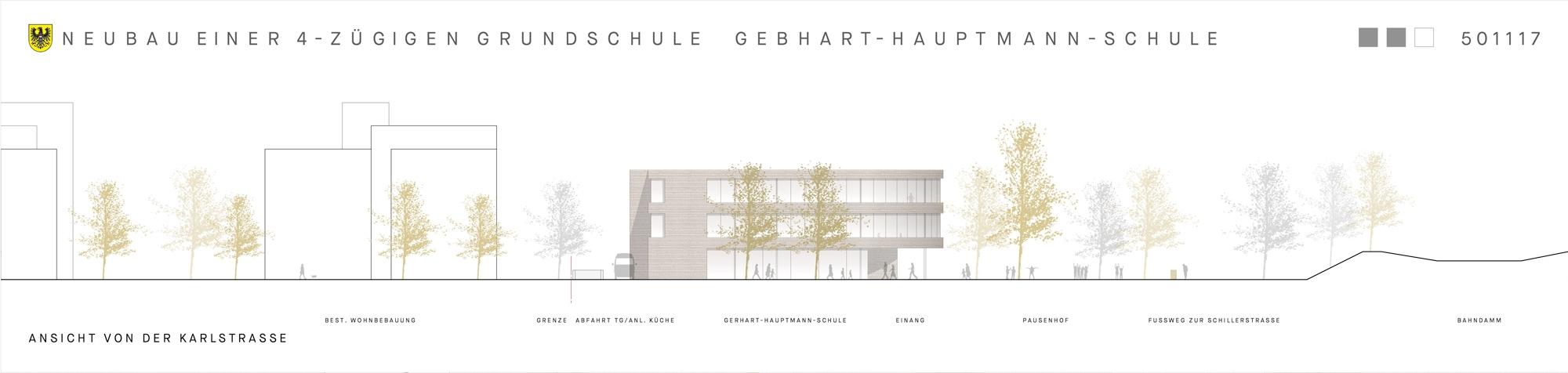 Ergebnis Neubau Einer 4 Zugigen Grundschule Ger Competitionline