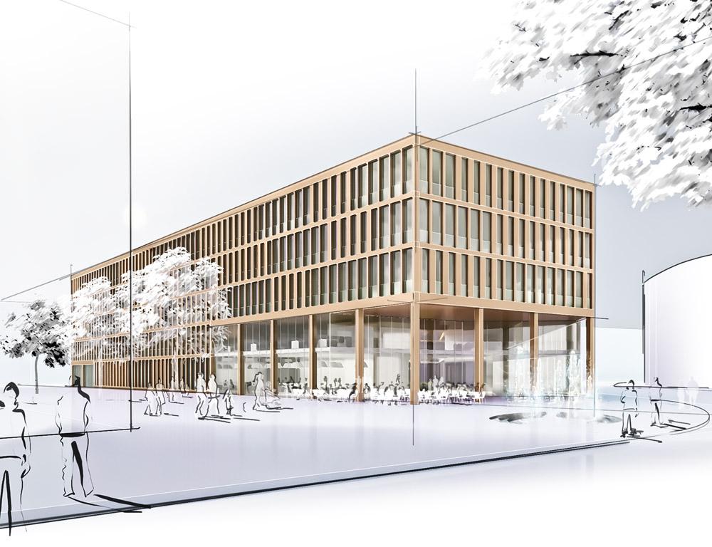 Architekt Erlangen ergebnis neubau eines landratsamtes für den landkr competitionline