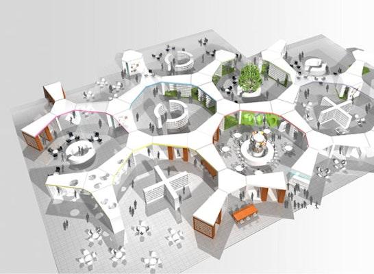 """ergebnis: ekz-ideenwettbewerb """"bibliothekseinrichtun..petitionline, Innenarchitektur ideen"""