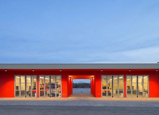 Projekt Quot Neubau Feuerwache Erfurt Waltersleben