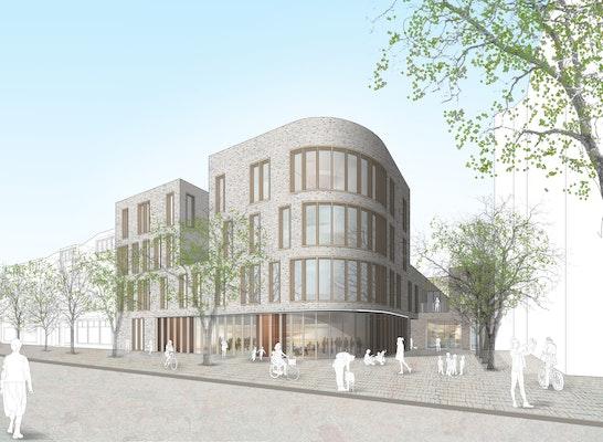 ergebnis neubau des stadtteilzentrums weststadt competitionline. Black Bedroom Furniture Sets. Home Design Ideas