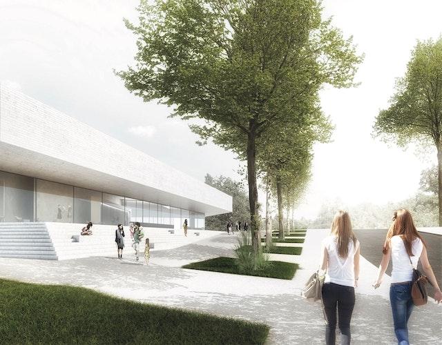 Neubau Schwimmsportkomplex in Chemnitz