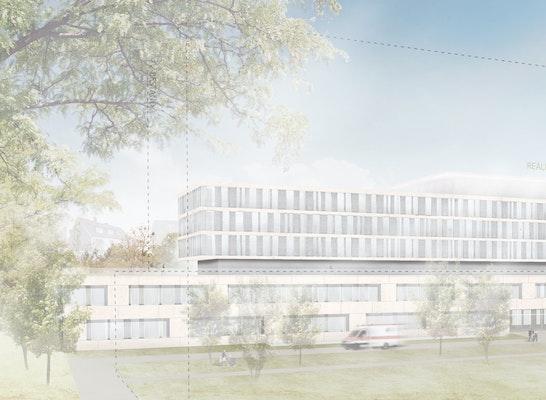 1. Preis: Perspektive Gesamtentwicklung, © HASCHER JEHLE Architektur