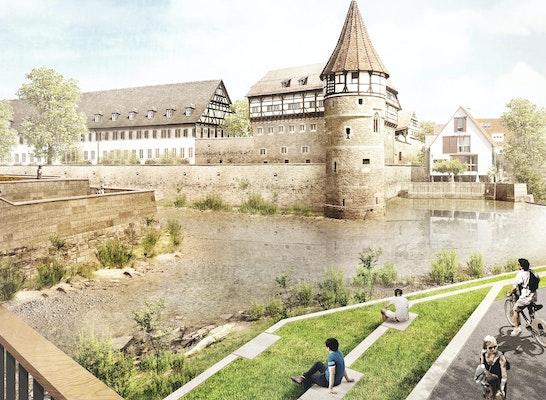 Flussterrassen am Eyachbogen