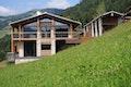 Wohnhaus in den Alpen