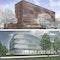 oben ein 1. Preis: Bieling und Partner Architekten, Kassel (DE), Hamburg (DE), unten ein 1. Preis: Sunder-Plassmann Architekten, Kappeln / Schlei (DE)