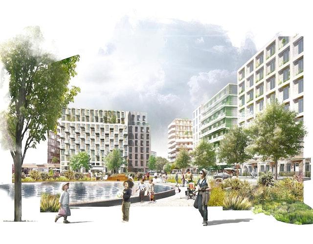 Gascoigne East Housing Development in Barking