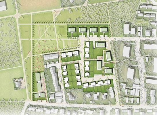 1. Preis: © rheinruhr.stadtplaner; KNIRR + PITTIG; Jürgensmann Landers Landschaftsarchitekten; SUD[D]EN Gärten & Landschaften