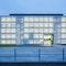 Der Neubau des CSD hat eine transparente Gebäudehülle aus Streckmetallpaneelen