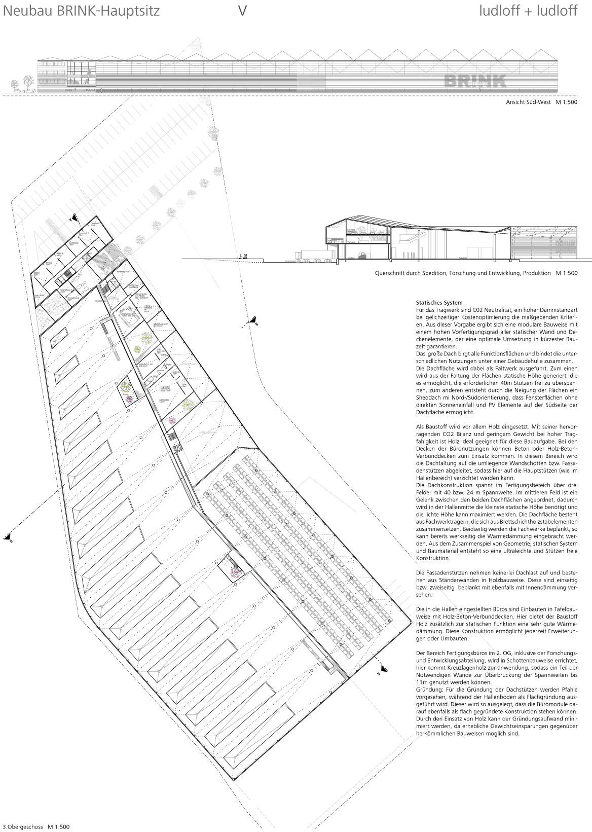 Result: Neubau des Hauptsitzes Brink...competitionline