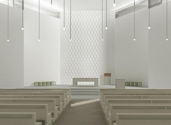 Ergebnis aktualisierung pfarrkirche st raphael competitionline - Kohler grohe architekten ...