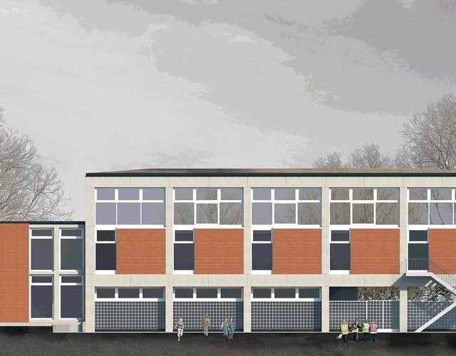 Sanierung Sporthalle Muhliusschule in Kiel