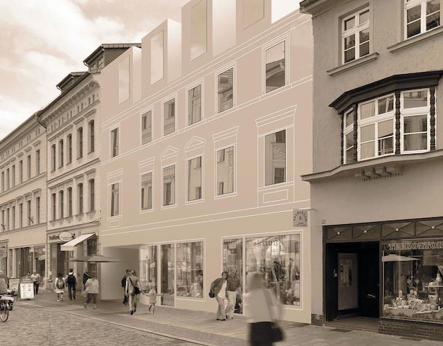 Ansicht Collegienstraße