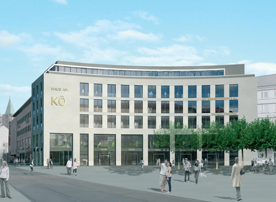 Ergebnis Fassadenwettbewerb K 246 Nigsplatz Competitionline