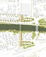 Lageplan.Vertiefungsbereich Ost M 1:500