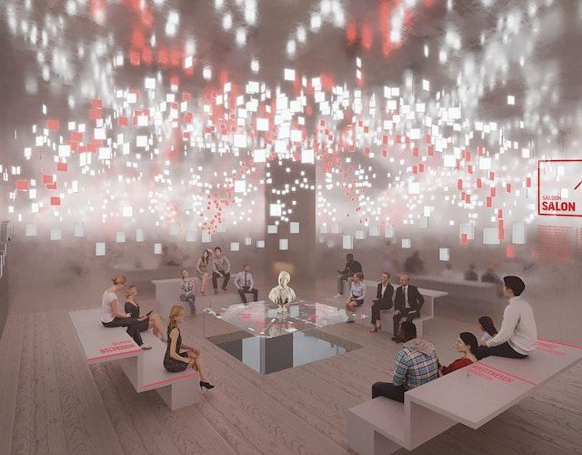 Erbringung der Gestalterleistung und Produktionsleitung für die Basisausstellung Forum Wissen