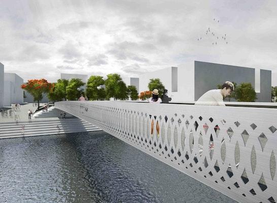1. Preis Realisierungsteil: Brücke am Stadtplatz: acme   AKT II