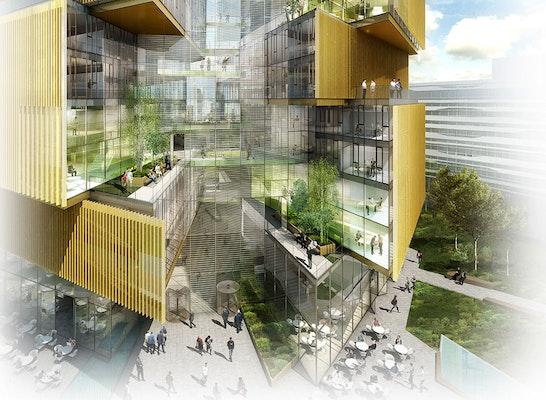 Preisgruppe baufeld 4 hochh user gateway gardens - Behnisch architekten boston ...